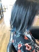 ヘアーサロン リアン 鴻巣店(hair salon Rien)ネイビー☆ブルー