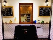 メンズヘアーサロン シンジョウ(Men's hair salon Shinjo)の雰囲気(コロナ対策でパーテーションをつけました。)