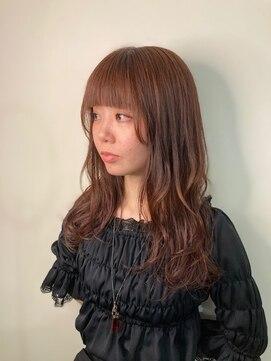 リミックス 飯塚店(Remix)秋に人気のピンクベージュカラー