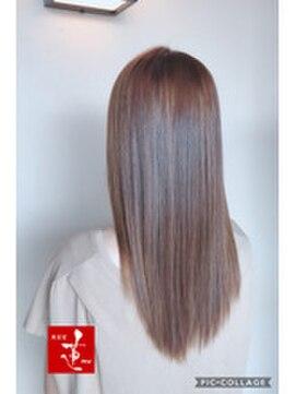 美容室 蓮(REN)白髪に負けない!グレージュ&フォルムメイク
