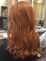 オーブ ヘアー リアム 仙台卸町店(AUBE HAIR liam)【AUBE HAIR】オレンジベージュカラー