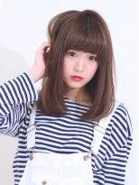 【HAIR DIMENSION 青山】大人かわいい無造作甘辛ふわミディ♪