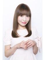 ユーレルム(U-REALM)sweetフェミニンセミロング☆