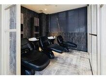 ディオ 麻布鳥居坂店(Dio)の雰囲気(半個室のシャンプー台にはYUMEシャンのみを設置。)