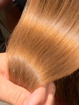 ラックスビーヘアーフィット24 JR天王寺駅前店(LUXBE hair×FIT24)の写真/【NEW OPEN★天王寺駅徒歩2分】oggiotto/TOKIO/ミルボンなど豊富にご用意★髪質に合わせて最適なケアを♪