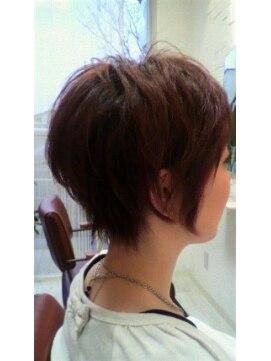 クリークヘアデザイン(Creek hair design)ベリーショートボブ
