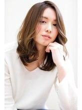 たさわ堂Amo大人カジュアルな雰囲気◆セミロング◆ゆるふわ◆艶カラー