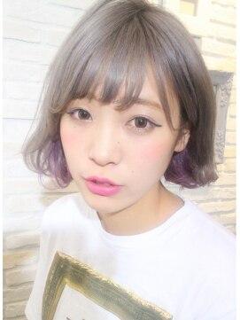 インナーカラーならいつものヘアアレンジも10倍可愛い♡個性的な髪色を楽しもう!