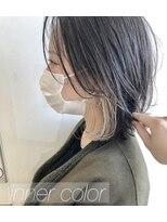 モッズヘア 仙台PARCO店(mod's hair)インナーカラーとレイヤーボブ