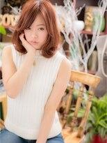 *+COVER HAIR+*…カラーがポイント☆ふわミディa!