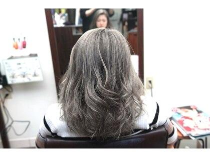 クレストヘアー(Crest hair)の写真