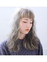 フェクシア ヘアストーリー(FEXIA hair story)【FEXIA】ハイグレージュ×エアカール