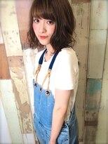 バーレー(Burleigh)☆★毛束感が可愛い♪夏キュンミディ★☆