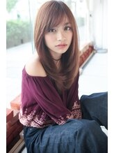 ウィービーパセリ(webeparsley by Johji Group)【PARSLEY】ツヤ髪ナチュラルストレートで小顔☆(妹尾祐紀)