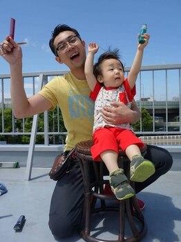 アントワープトーキョー(antwerp TOKYO)の写真/同時施術の方限定☆5歳までのお子様のカットを無料で施術!antwerpで親子仲良くヘアチェンジしませんか?