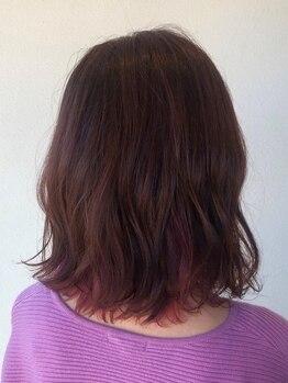 ナタリー(natalie)の写真/施術するたびに健やかな髪へ導きます!《アルカリ除去》で日々のダメージリセットして頭皮環境を整えます◎