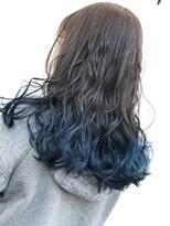 グラデカラー ブルー