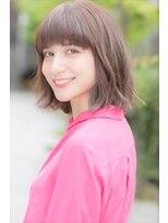 ダミア(DAMIA)◆大人かわいいカジュアルボブ~小顔に見える前髪