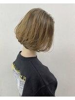 ソース ヘア アトリエ(Source hair atelier)【SOURCE】前下がりマニッシュボブ