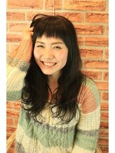 アンシー ヘア デザイン(an-cie hair design+)♪前髪かわいくフンワリ柔らかな女の子は誰よりも可愛い♪