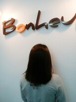 美容室 ボヌール【ボヌール】つややか☆透明感カラー【オーガニック】