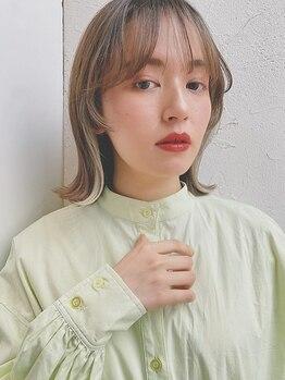 ジョエミバイアンアミ(joemi by Un ami)の写真/【トレンド×似合わせカラーでお洒落に*】髪を柔らかく魅せ、あなたに合ったパーソナルなカラーをご提案*