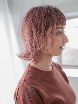 ケア 坂戸駅前店(Care)の写真/Care自慢の美髪髪質改善カラーならカラーを楽しみながらヘアケアもできる♪色持ちもツヤ感もUP◎