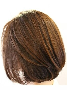 シキ(shiki)の写真/髪と地肌を自然にいたわり、美容液成分83.19%配合酸素カラー☆低ダメージが嬉しい☆優しく美しい髪色へ♪
