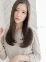 【ROMA】綺麗に伸ばせる/髪質改善/ナチュラル艶ストレートロング