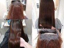 トキオデシンカ(TOKIOdeSINKA)縮毛矯正はトキオトリートメントの効果を最大限にする過去最高の縮毛矯正☆