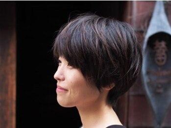 髪匠庵の写真/中崎町■一人ひとり違う髪質・生えグセ・頭の形…。歴18年のオーナーの抜群のカット技術で、髪の悩みを解消
