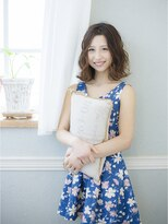 オーブ ヘアー ハラジュク 原宿店(AUBE HAIR harajuku)夏におすすめ!大人無造作パーマスタイル♪