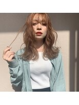 リリー(Lilley)【lilley 高田彩乃】ブリーチ必須☆抜け感ベージュ(天神/今泉)