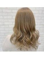 ビス ヘア アンド ビューティー 西新井店(Vis Hair&Beauty)ナチュラル/ハイトーン/ベージュ/ミルクティー/ミルフィーユ