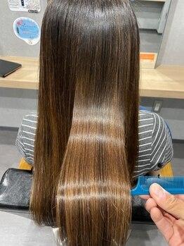 アミーベルレーヴ(AMI a BELLE Reve)の写真/【髪質改善専門店】20年以上前から髪質改善に特化した髪質改善ヘアエステで広島トップレベルのツヤ髪へー