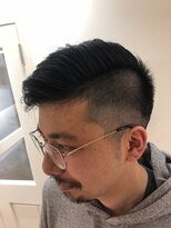 カフーヘアー スパ メイク(kafuu hair spa make)2ブロモヒカン