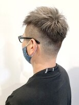 ティルヘアー(TiLL HAIR)メンズスパイキーショート 白髪隠し シルバーアッシュ