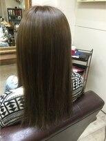 ファシオ ヘア デザイン(faccio hair design)イルミナカラーのブルージュ