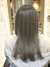 ヘアリラクゼーションリノ (Hair Relaxation Lino)外国人風アッシュグレー
