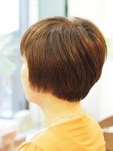 ブギー ヘアデザイン(Boogie Hair Design)リップライン・前上がりショート