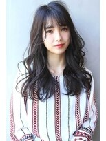 【Blanc/目黒】黒髪/無造作カール/ロング 2