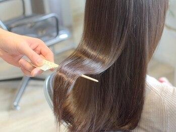 ミュージアム(MUSEUM)の写真/【髪質改善認定サロン】神戸で数少ないハイパーTOKIO取扱☆髪質でもう悩まない、美髪ケアを提案します♪