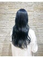 ビス リアン 川口店(Vis lien)ハイライトカラー/センターパート/前髪カタログ/ケアブリーチ