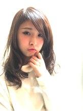シェディーヘア(Sheady hair)モテ髪カールスタイル
