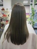 ラフォンテ ドゥーエ(LA FONTE due)髪質改善カラーエステ艶髪ロング