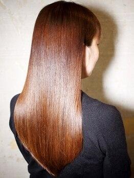 タイズ(ties)の写真/ 【関西では稀少なマイクロバブル導入☆】魔法のアワで、TR効果を最大に引き出し、感動のすっぴん素髪へ…!
