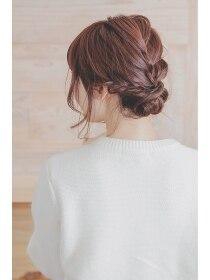 ヘアメイク リロウ(hair make relow by Nine9)ミディアムアップスタイル