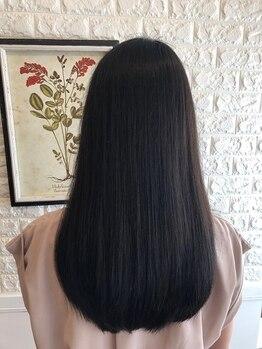 ニジ ヘアメイク(Niji hair:make)の写真/今話題の酸熱トリートメントでクセ毛やうねりも綺麗にまとまる☆ダメージレスでずっと素敵を提案します。