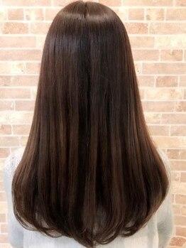 ロアール 一宮店(LOAOL)の写真/髪への優しさを追求★誰もが触りたくなる髪質に♪エレガントなサロンで、上品なスタイルを♪
