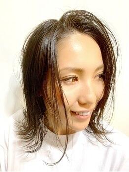 グリッター 赤塚店(GLITTER)の写真/髪のダメージも少なく、コテで巻いたようなふわっとした仕上がりが大人気◎再現しやすく、スタイル長持ち♪